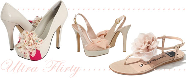 Wedding Shoe Trend Flirty