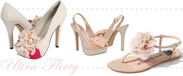 Wedding Shoe Trend Flirty