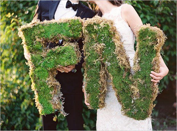 giant moss letters