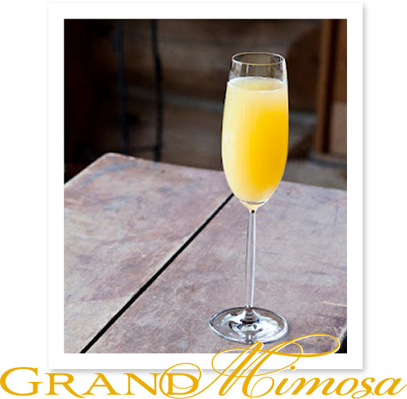 stir it up: grand mimosa