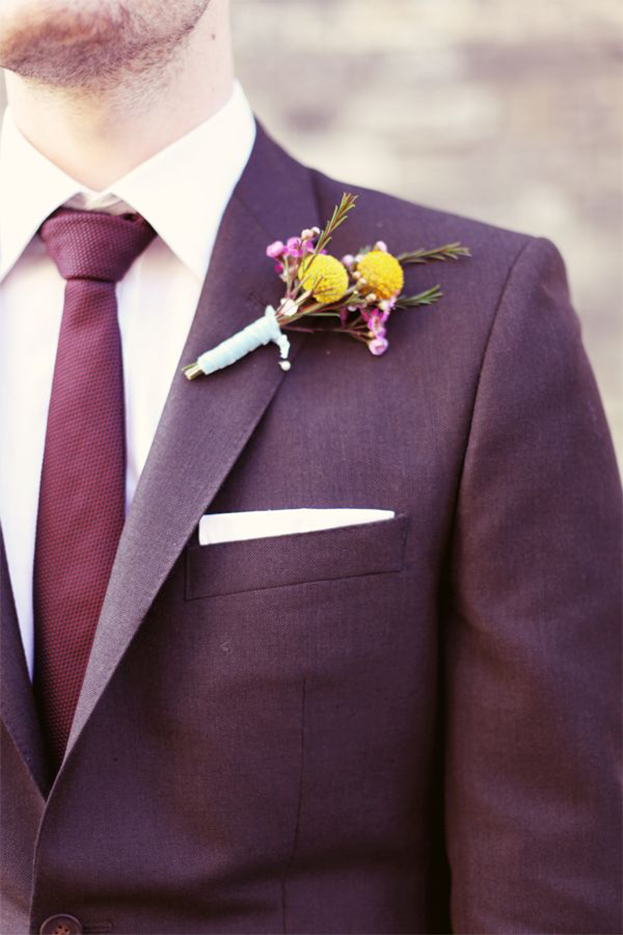 Wedding Colors | Pantone Color of the Year: Marsala