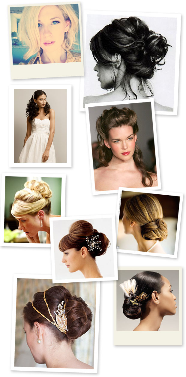 wedding day hairstyle ideas