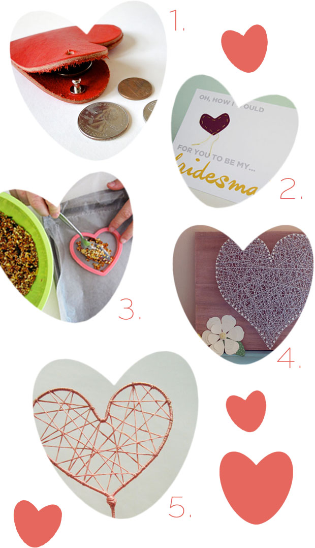 heart projects  |  weddings, valentines, fun crafts