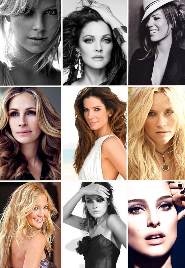 Beautiful Celebrity Photographs