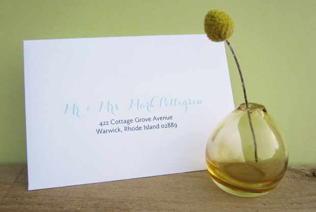mailing your wedding invitations