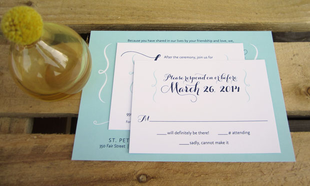 How To Assemble Wedding Invitations American Wedding Wisdom