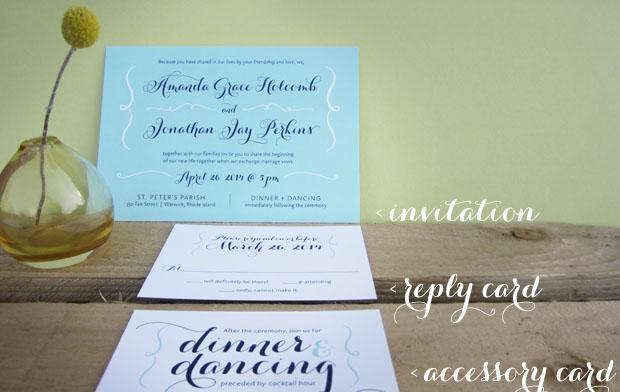 invitations and accessories