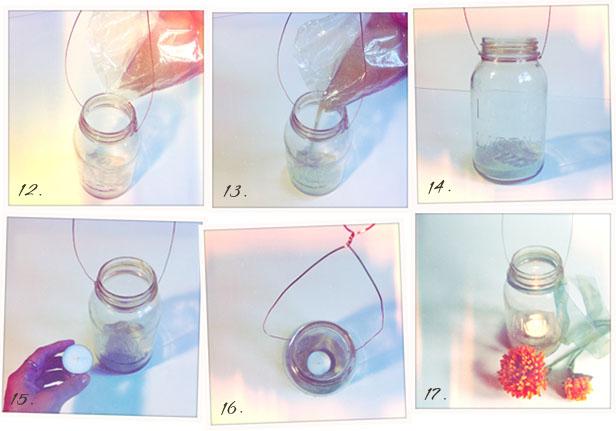 Rustic Wedding Decorations: DIY Mason Jar Lanterns