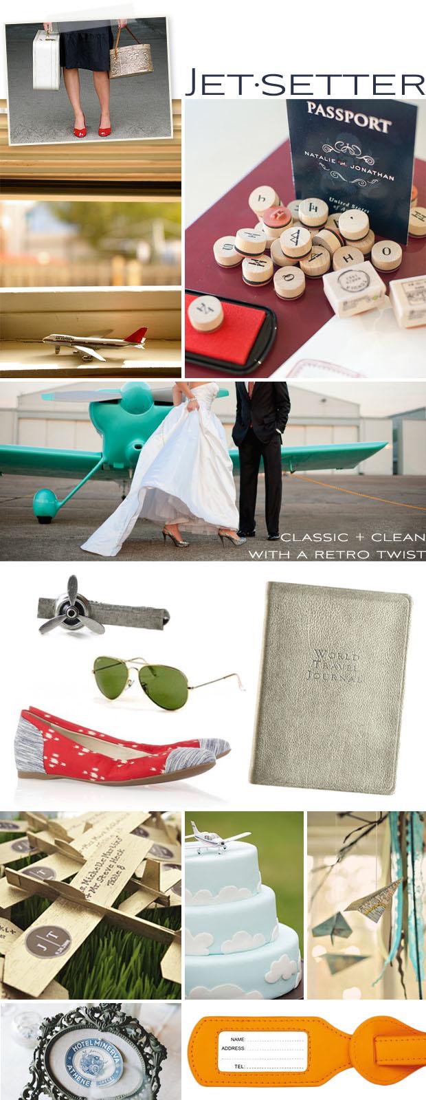 Inspiration Board - Style: Jet-setter