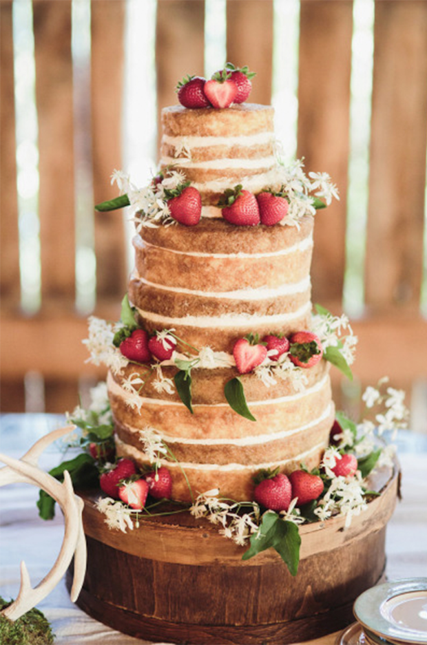 Wedding Trends Naked Cakes The Green Kangaroo
