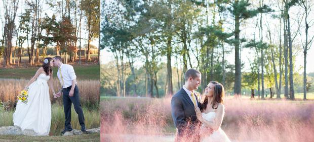 Kristin and Matt, happy newlyweds!