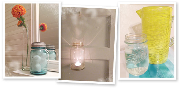 mason jar decor and uses in the home, project ideas, and more