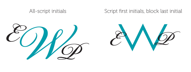 Two types of monograms