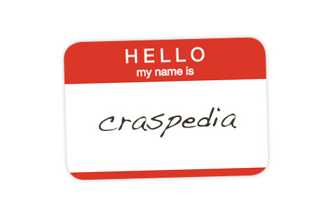 Craspedia Name Tag