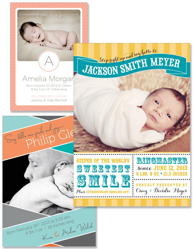 New Little Joey Birth Announcement designs