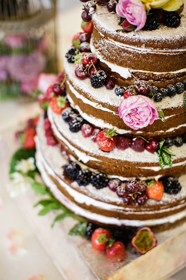 Wedding Trends, Naked Wedding Cakes