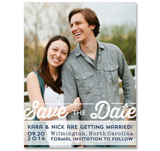 poster photo save the date wedding stationery by the green kangaroo