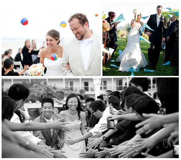 recessional-exits-getaways-sendoffs-bride-groom-beachballs-airplanes-fives-hands-clap