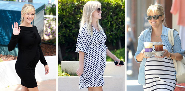 Reese Witherspoon's Maternity Style