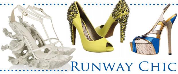 Wedding Shoe Trend Runway Chic