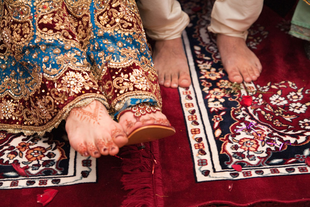 And Indian tradition: shoe stealing