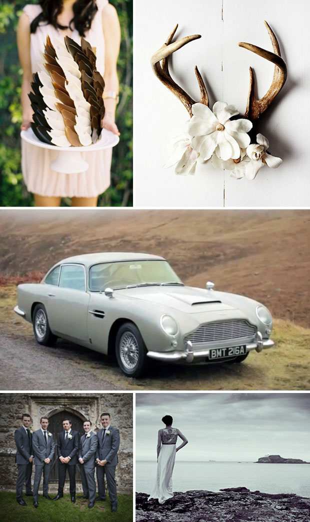 skyfall wedding day inspiration | james bond wedding