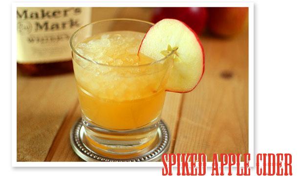 stir it up: spiked apple cider