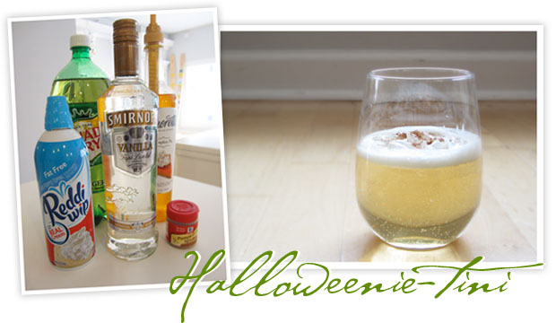 stir it up: halloweenie-tini