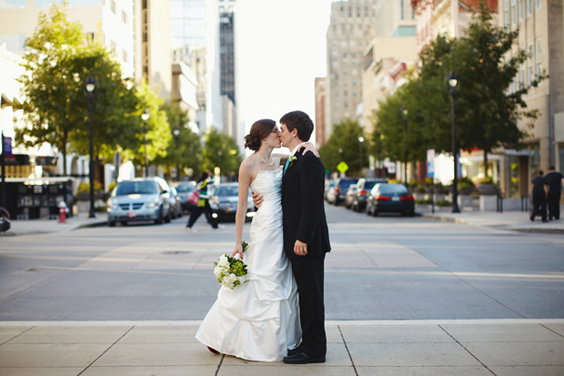 Katie and John in downtown Raleigh