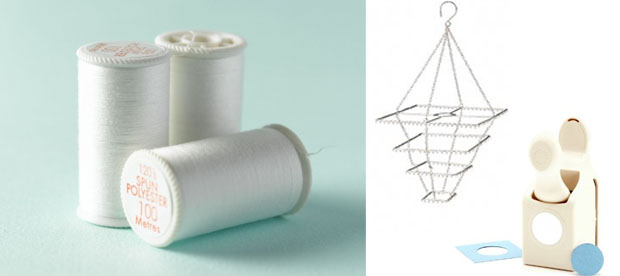 additional supplies for paper chandelier