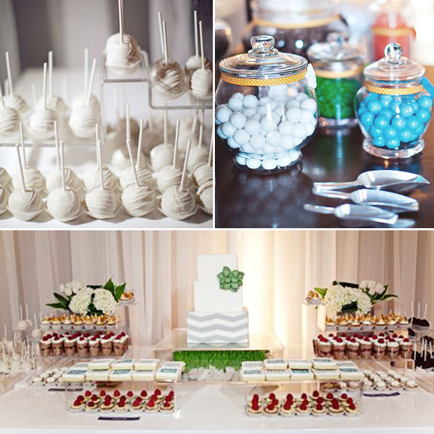 dessert tables and set ups