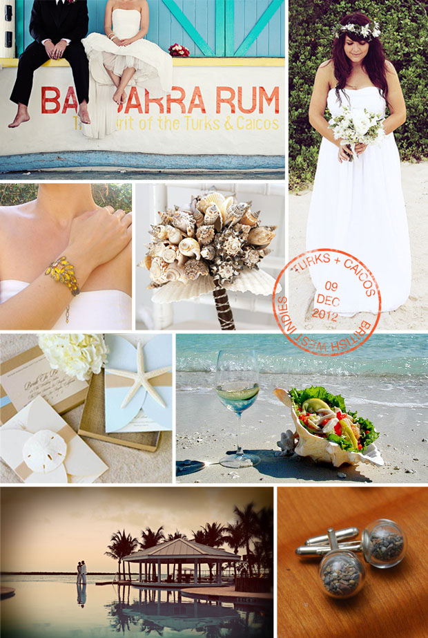 turks and caicos inspiration board