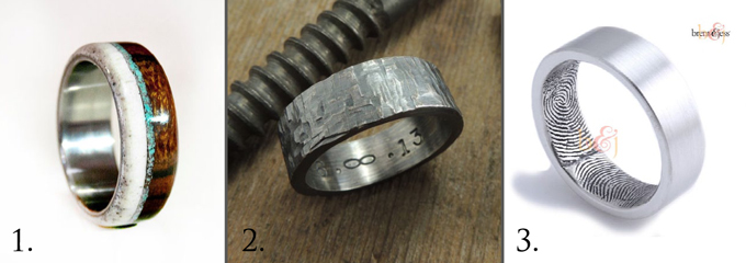 Unique Mens Wedding Rings