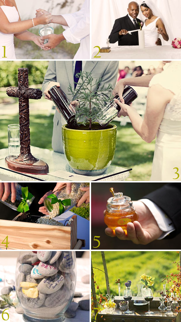 unique wedding unity ceremony ideas