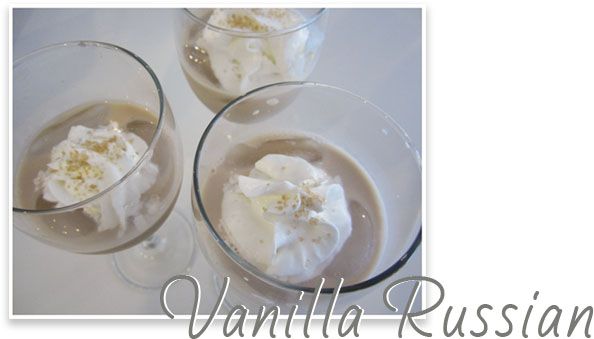 stir it up: vanilla russian