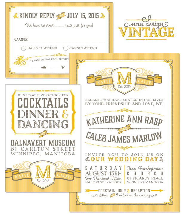 Wedding Invitations Old Fashioned: American Wedding Wisdom