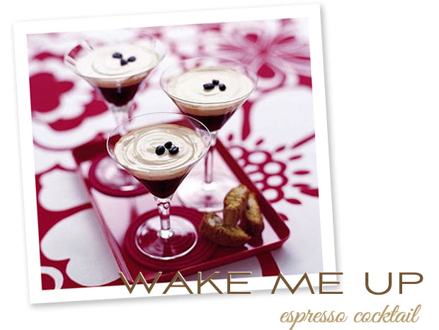 stir it up: wake me up espresso cocktail