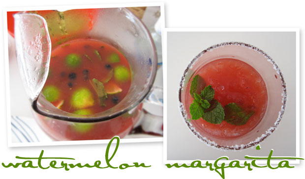 stir it up: watermelon margarita