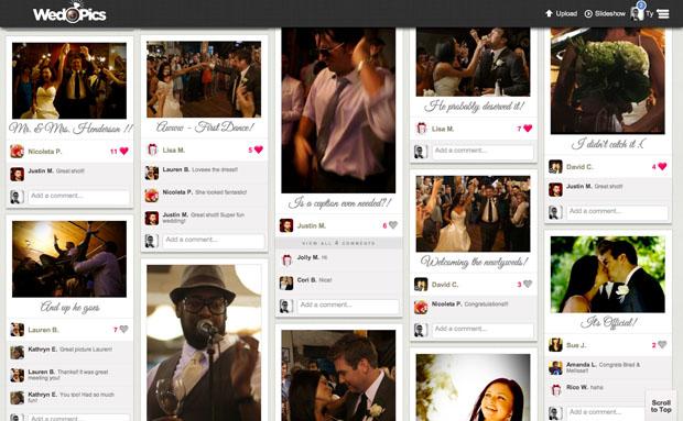 wedpics - interactive wedding album