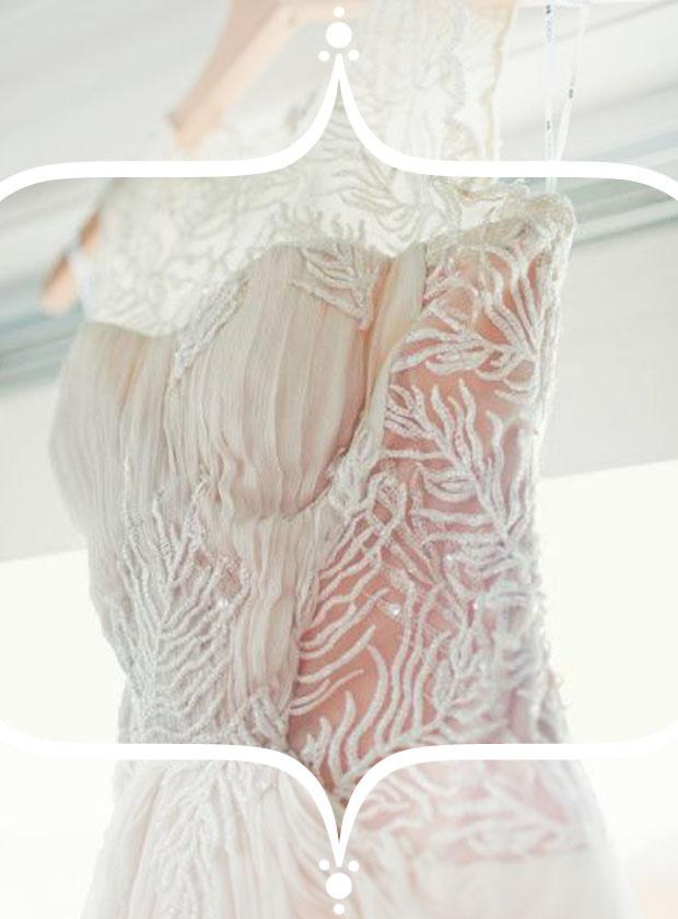 wedding dresses with illusion neckline