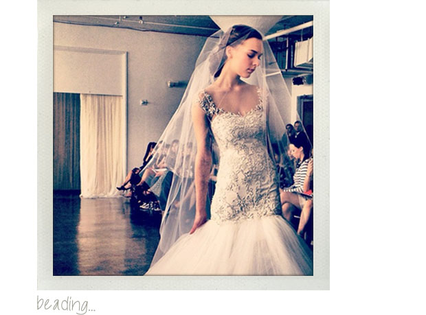 wedding dress trends 2013 - beading, beaded bodice