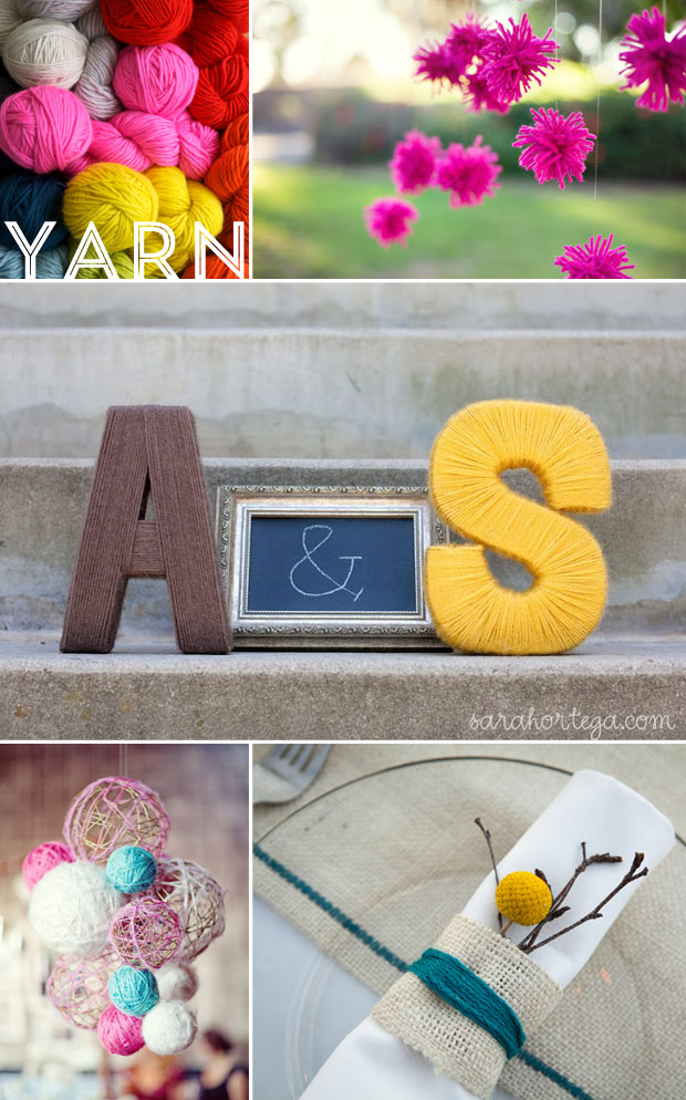 wedding inspiration board | yarn projects, diy, decor