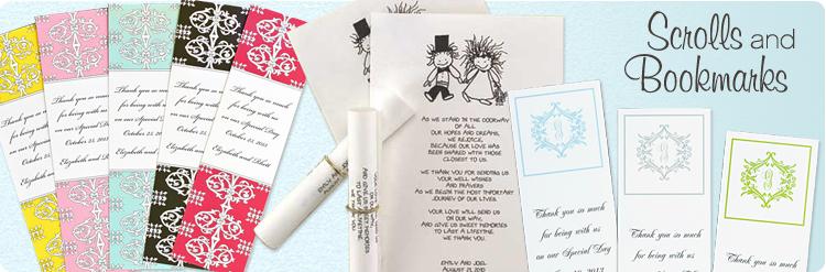 scrolls & bookmarks