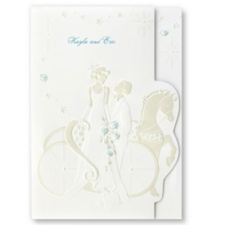 Truly Romantic Wedding Invitations SAMPLE