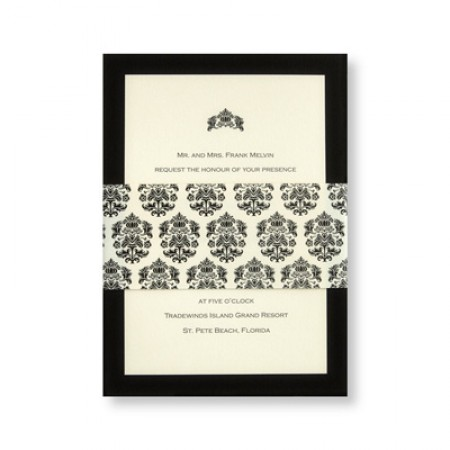 Ecru Parisian Wedding Invitations