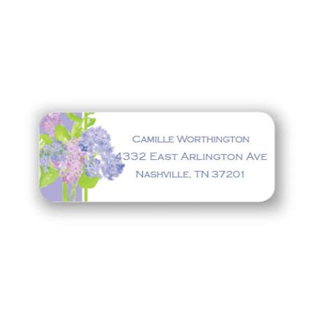 Hydrangeas Address Labels