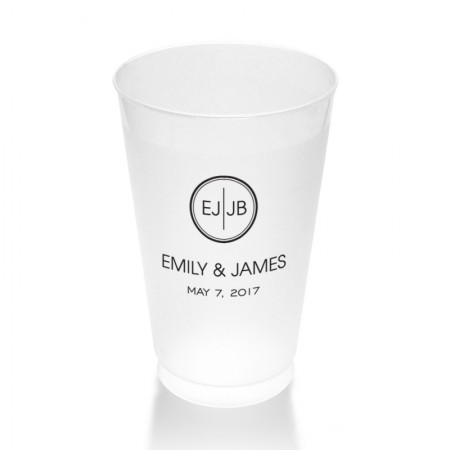 Coco Clear or Frosted Plastic Tumblers
