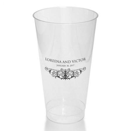 Ava Clear or Frosted Plastic Tumblers