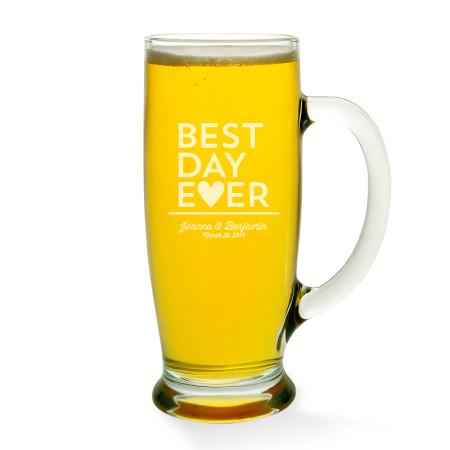 Best Day Ever Beer Mug