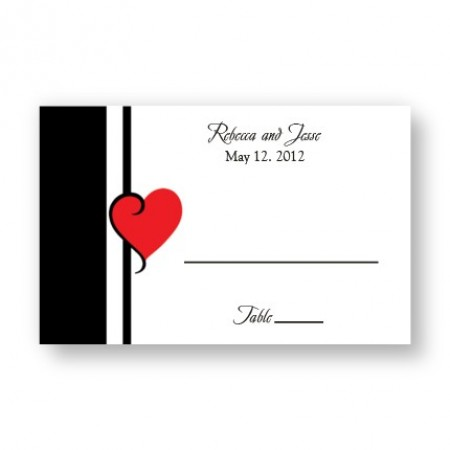 My Heart's Desire Seating Cards